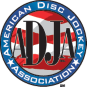 Logo for the American Disc Jockey Association as a tool for Party Pronto party rental company in Arcadia, CA