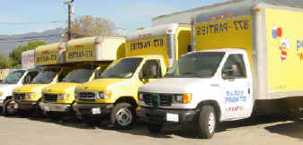Party Pronto delivery fleet