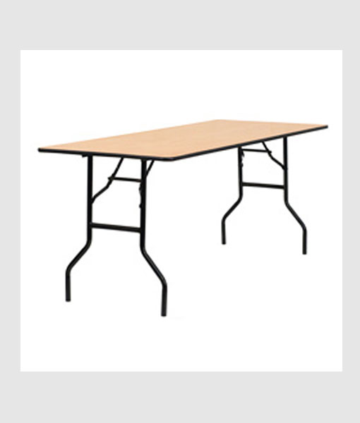 6 Foot Rectangula Table