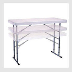 6-Foot Adjustable Height Childrens Table