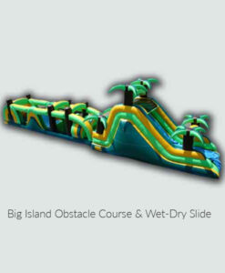 Big Island Obstacle Course and Wet-Dry Slide