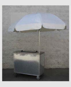 Ice Cream Freezer Cart
