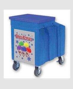Snow-Cone-Ice-Chest-Cart