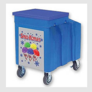 Snow-Cone-Ice-Chest-Cart