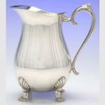 Water Pitcher Silverplate