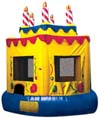 Birthday cake inflatable from Party Pronto party rental company in Arcadia, CA