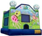 SpongeBob cartoon jumper rental from Party Pronto in Arcadia, CA