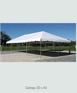 Canopy 20 x 40