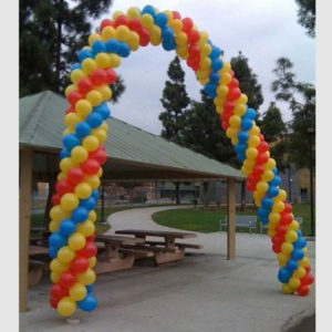 Balloon Arch and Columns
