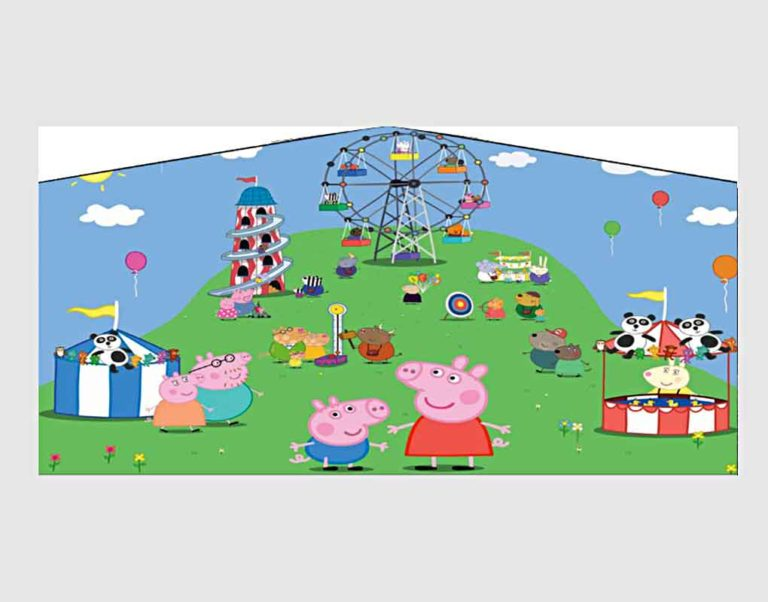 Peppa-Pig-Banner-Red