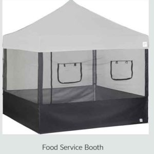 Food Service Booth