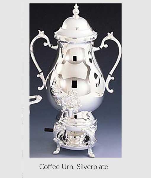 Coffee Urn Silverplate