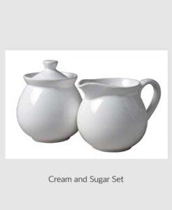 Cream & Sugar Set