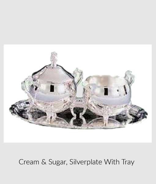 Cream & Sugar Silverplate