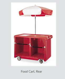 Food Cart Rear