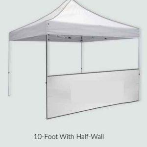 Half-Wall, 10-foot