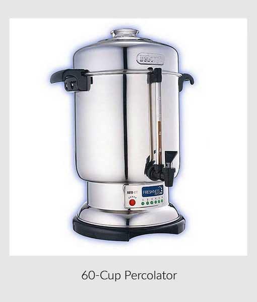 Percolator 60-Cup